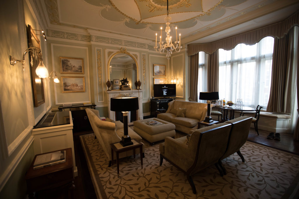 Which room to stay in at The Connaught?