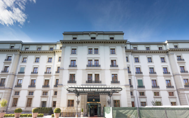 Review: Beau-Rivage Palace, Lausanne